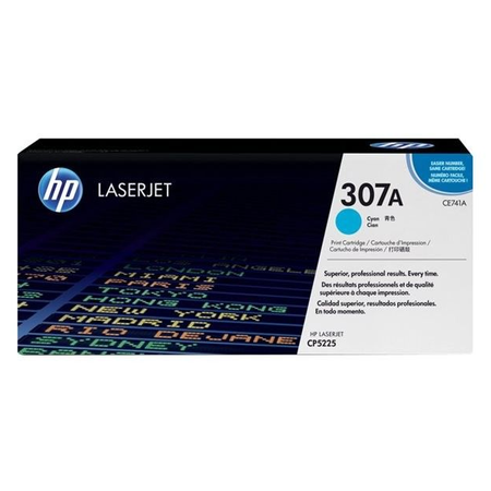 HP 307A CE741A - Renkli LaserJet Professional CP5225 Orjinal Mavi Toner