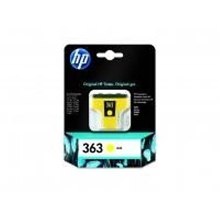 HP C8773E Yellow Mürekkep Kartuþ (363)