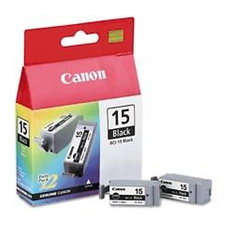 Canon BCI-15 BK 2'li Mürekkep Kartuþ