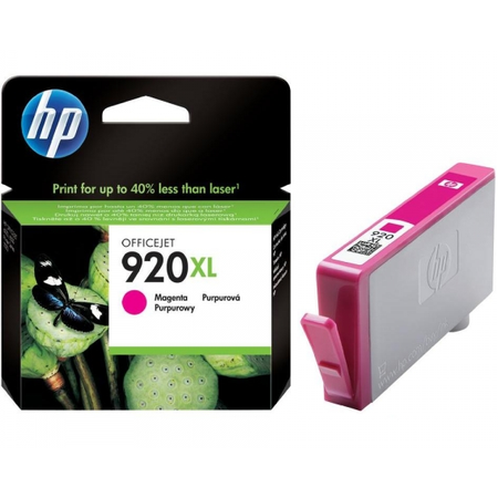 HP 920XL KIRMIZI KARTUÞ - Hp Officejet 7000N / 7500A / 6500 / 6000 Kartuþ - HP CD973A Orjinal Kartuþ