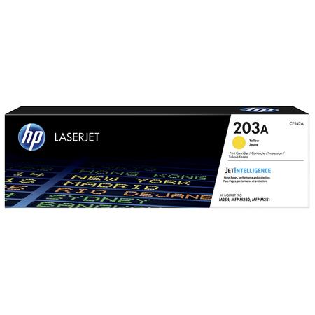 HP CF542A 203A ORJÝNAL SARI TONER