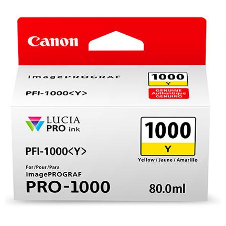 Canon PFI-1000Y - Canon Pro-1000 Sarý Kartuþ