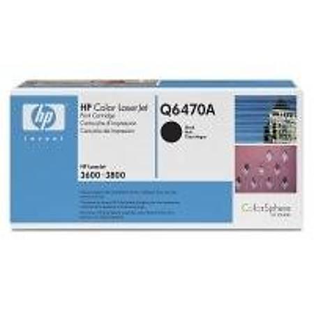 HP Q6470A Black Toner Kartuþ (501A)