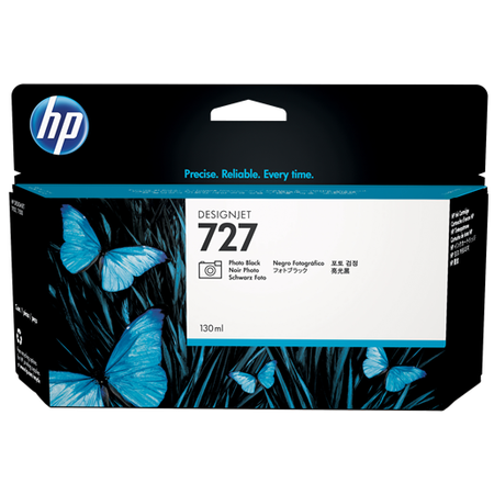 HP 727 B3P23A Orjinal Photo Siyah Kartuþ 130ML