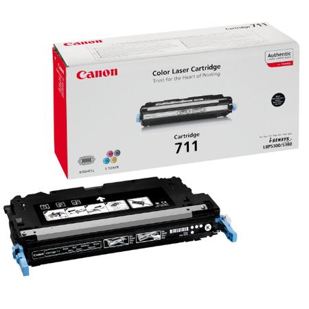 Canon 711BK Toner - Canon I-SENSYS MF9220 - MF9170 - MF9280 - MF9130 - MF8450 - LBP5300 - LBP5360 Orjinal Siyah Toner