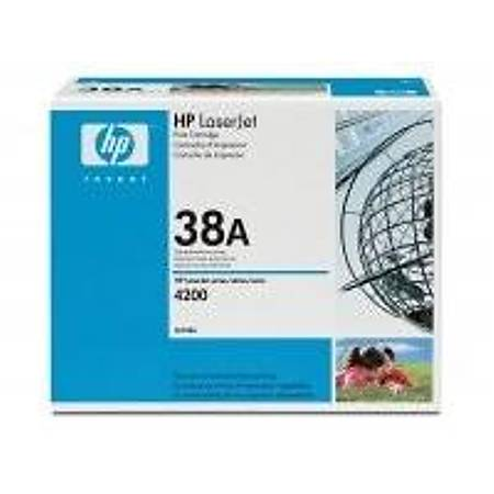 HP Q1338A Black Toner Kartuþ (38A)