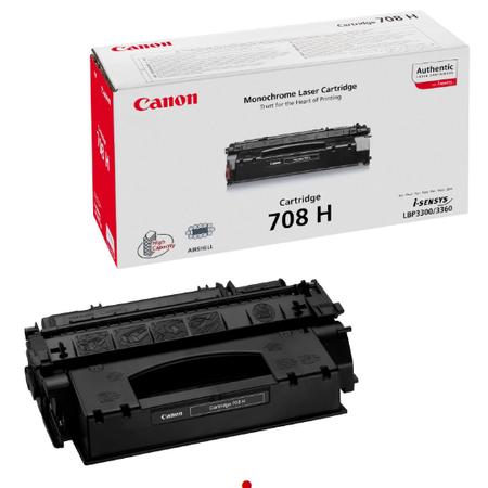 Canon 708H Toner - Canon I-SENSYS LBP3300 - I-SENSYS LBP3360 Orjinal Toner Yuksek Kapasite
