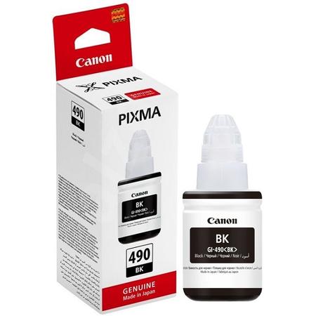 Canon GI-490BK - Canon Pixma GI-490 Bk Orjinal Siyah Mürekkep