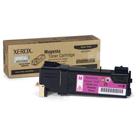XEROX PHASER 6125 ORJÝNAL MAGENTA TONER (106R01336)