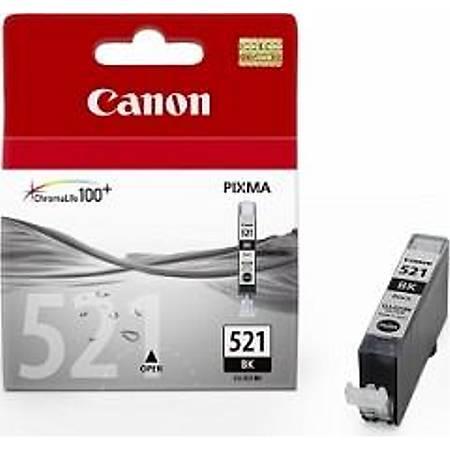 Canon CLI-521 BK Mürekkep Kartuþ