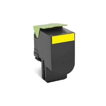 Lexmark 70C8XYE Yellow Toner (Corp.)