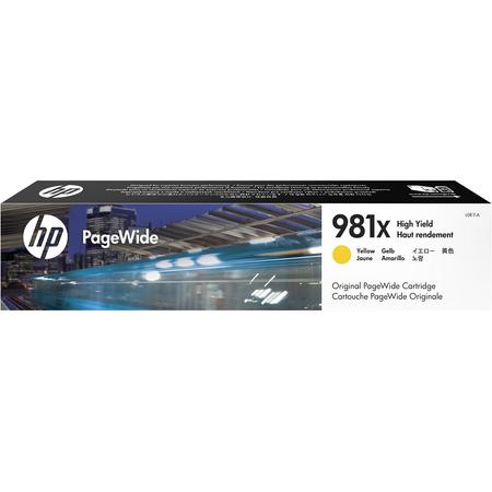 HP 981X L0R11A - PageWide Enterprise Color 556 - 586 Orjinal Sarý Kartuþ