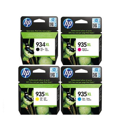 HP 934XL - 935XL Orjinal 4'li Paket - (C2P23A - C2P24A - C2P25A - C2P26A)