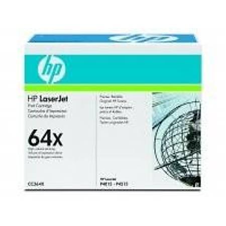 HP CC364X Black Toner Kartuþ (64X)