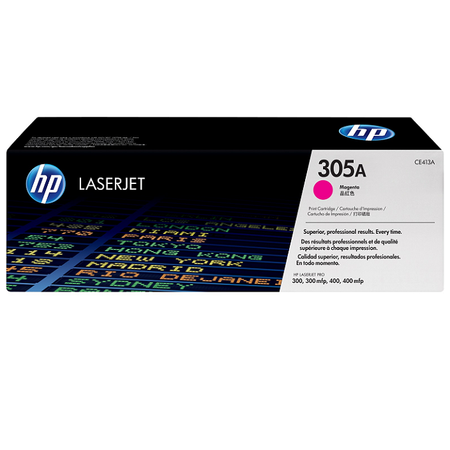 HP 305A CE413A TONER - Hp Laserjet Pro M351 - M375 - M451 - M475 Yazıcı Orjinal Magenta Toner