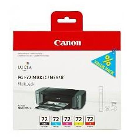 Canon PGI-72 MBK/CMY/R Multi Pack