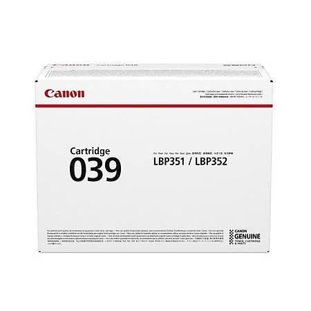 Canon 039 BK Toner Kartuþ 0287C001