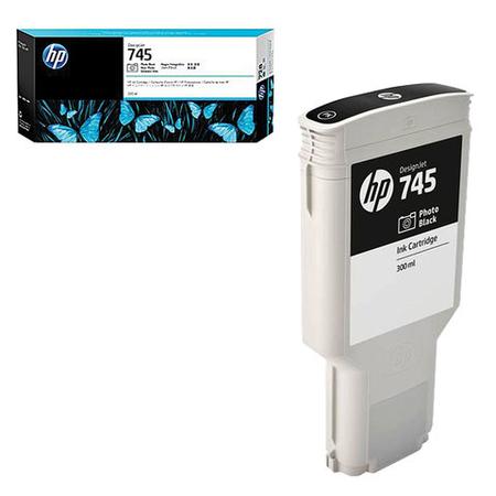 HP F9K04A 745 300Ml Photo Black Orjinal Kartuþ