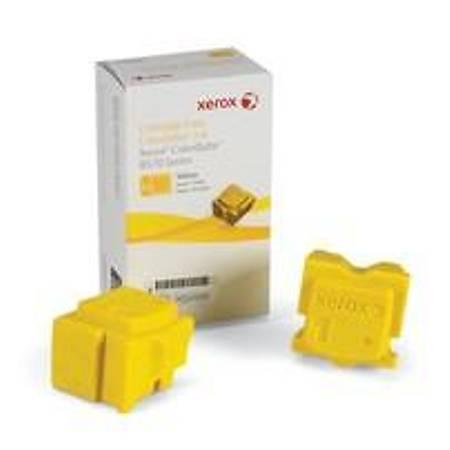 Xerox ColorQube 8570/8580 Genuine Xerox Solid Ink Yellow (2 Sticks) (108R00938)
