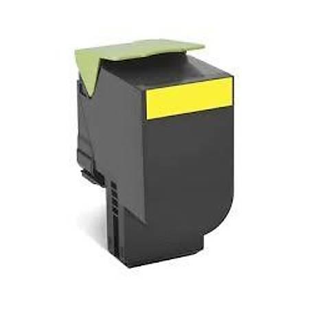 Lexmark 80C8HY0 Yellow Return Toner (3000 Sayfa)