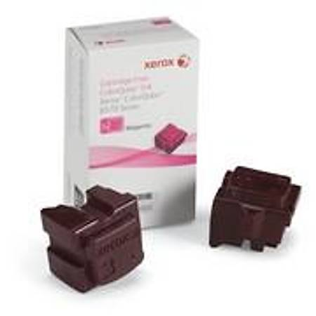 Xerox ColorQube 8570/8580 Genuine Xerox Solid Ink Magenta (2 Sticks) (108R00937)