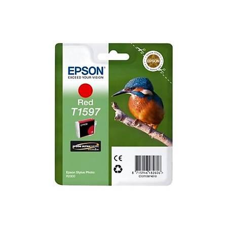 Epson T1597 Red Mürekkep Kartuþ