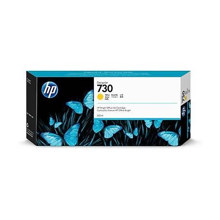 HP P2V70A 730 300ML Orjinal Sarý Kartuþ
