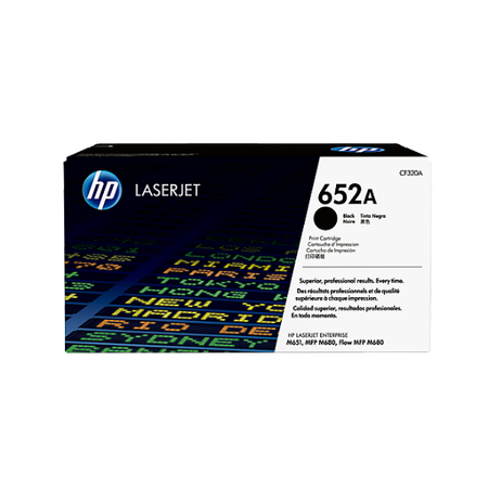 HP 652A CF320A TONER - Hp Color LaserJet M651 - M680 Orjinal Siyah Toner