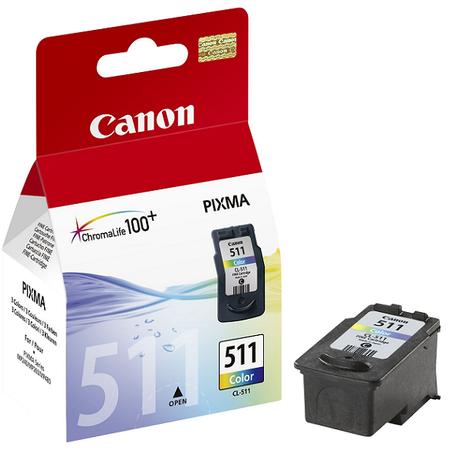 Canon CL511 - Canon CL-511 0rjinal Renkli Kartuþ