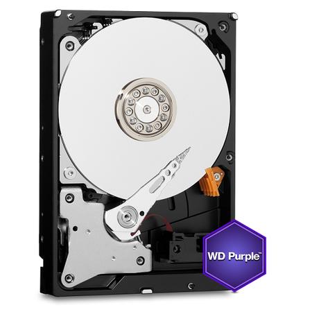 WD WD10PURZ Purple 7X24 3,5' 1TB 64MB SATA 6Gb/s Disk