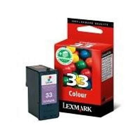 Lexmark 18CX033E CMY Mürekkep Kartuþ (33)