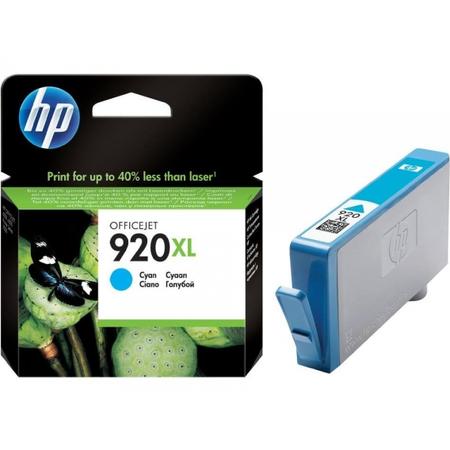 HP 920XL MAVÝ KARTUÞ - Hp Officejet 7000N / 7500A / 6500 / 6000 Kartuþ - HP CD972A Orjinal Kartuþ
