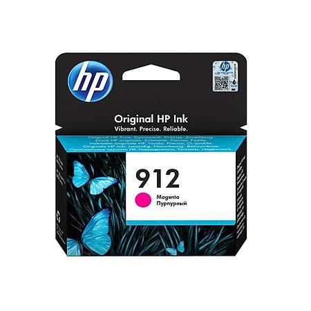HP 912 MAGENTA KARTUÞ , HP 912 3YL78AE ORJÝNAL MAGENTA KARTUÞ