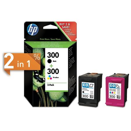 HP CN637E 300 Orjinal 2Li Eko Paket (CC640E - CC643E)