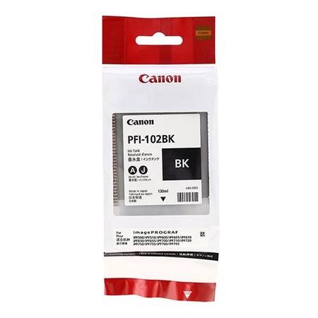 Canon PFI-102BK Orjinal Siyah Kartuþ 130ML
