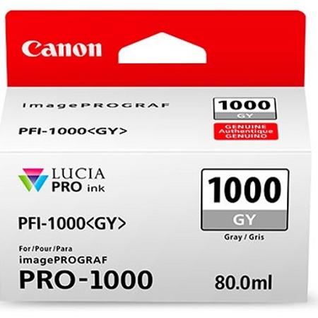 Canon PFI-1000GY - Canon Pro-1000 Gray Mürekkep Kartuþ