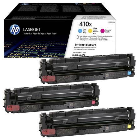 HP 410X CF252XM - Hp CF252XM CMY (CF411X - CF412X - CF413X ) ORJINAL RENKLÝ SET 3RENK