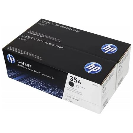 HP CB435AF 35A TONER - HP LASERJET P1005 - P1006 ORJİNAL TONER 2Lİ PAKET