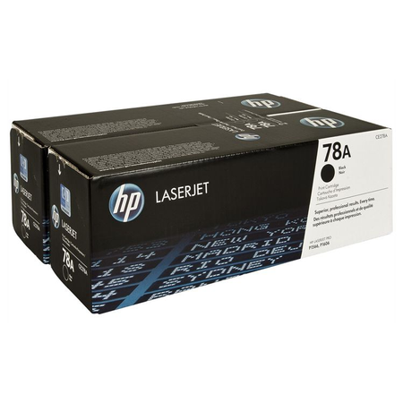 HP 78A CE278AD - HP LaserJet Pro M1536dnf - P1606dn - P1566 Orjinal Toner 2Li Paket
