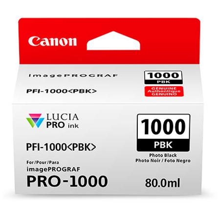 Canon PFI-1000PBK - Canon Pro-1000 Photo Siyah Kartuþ