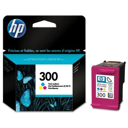 HP 300 RENKLÝ KARTUÞ - HP 300 CC643E Orjinal Renkli Kartuþ