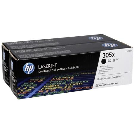 HP CE410XD TONER - HP COLORLASERJET Pro M377 - M452 - M477 ORJÝNAL SÝYAH TONER 2LÝ PAKET