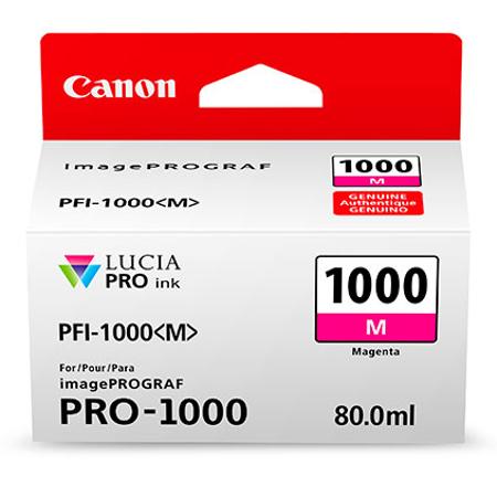 Canon PFI-1000M - Canon Pro-1000 Magenta Kartuþ