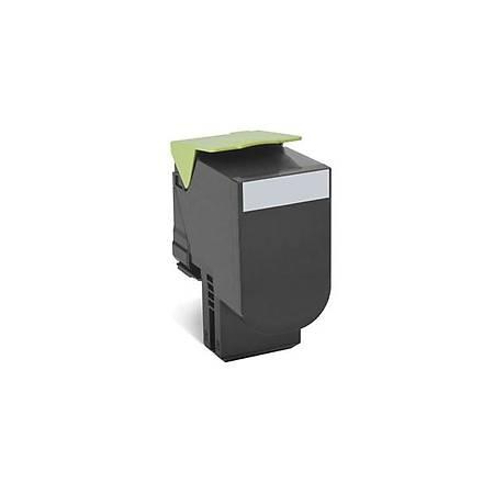 Lexmark 80C8SK0 Siyah Return Toner 2500 Sayfa