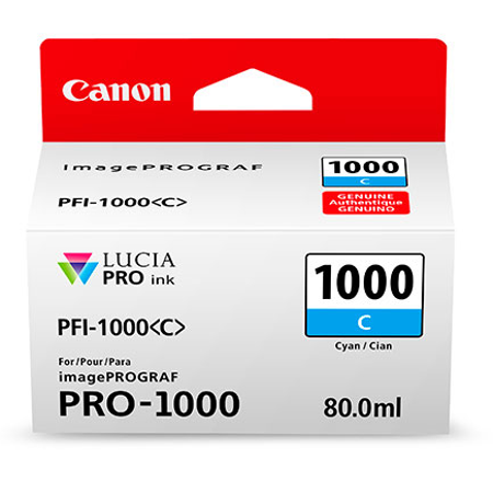 Canon PFI-1000C - Canon Pro-1000 Mavi Kartuþ
