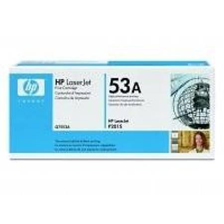 HP Q7553A Black Toner Kartuþ (53A)