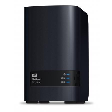 Wd WDBVBZ0160JCH-EESN My Cloud Ex2 Ultra 16 TB Nas