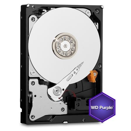 WD WD60PURZ Purple 7X24 3,5' 6TB 64MB SATA 6Gb/s Disk