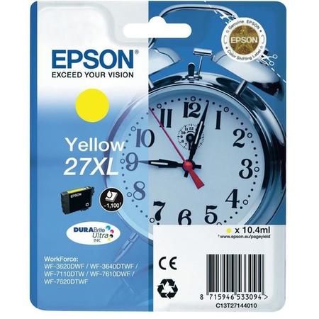 EPSON 27 XL Orjinal Sarý Kartuþ - C13T27144020