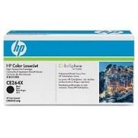 HP CE264X Black Toner Kartuþ (646X)